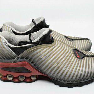 Nike Air Max Plus TN Metallic Silver Red Size 8.5
